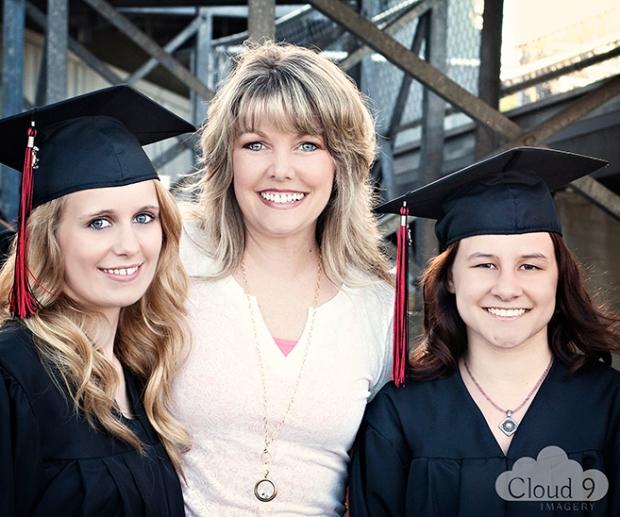 Kimberly Thompson, Mrs. Sarah Pickett, & Donovan Payne © 2013 Cloud 9 Imagery