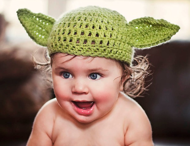 Daddy's Little Yoda